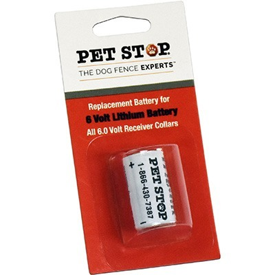 Pet Stop 174 6v Lithium Battery Pet Stop Of Bismarck